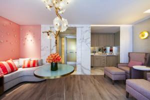 Serenity Lounge en The Peninsula Beverly Hills Spa