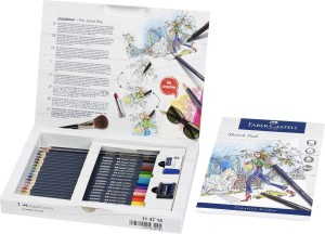 114714_Goldfaber colour pencil, gift set, 23 pieces