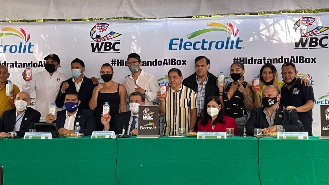Electrolit Y El Consejo Mundial De Boxeo, Firman Alianza Estratégica Para Fomentar La Correcta Hidratación